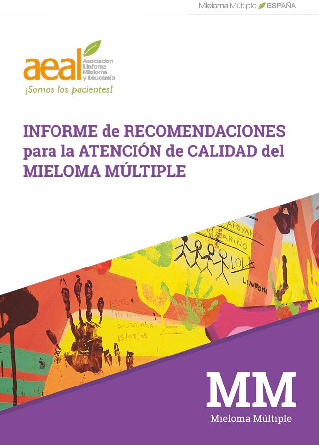 Informe de recomendaciones para la atención de calidad del Mieloma Múltiple